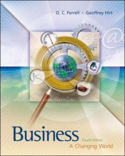 9780071199698: Business: A Changing World