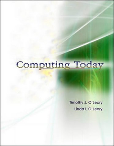 9780071199988: Computing Today