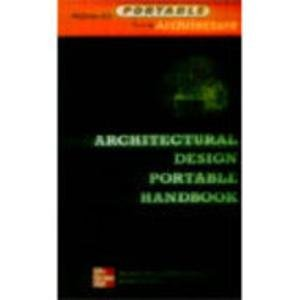 9780071201131: Architectural Design Portable Handbook
