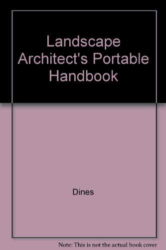 9780071201278: Landscape Architect's Portable Handbook