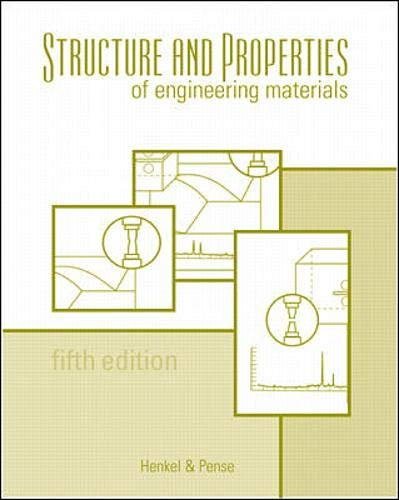 9780071201346: Structures and Properties of Engineering Materials (Materials Science & Engineering)
