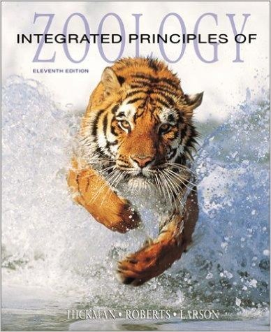 9780071202558: Integrated Principles of Zoology