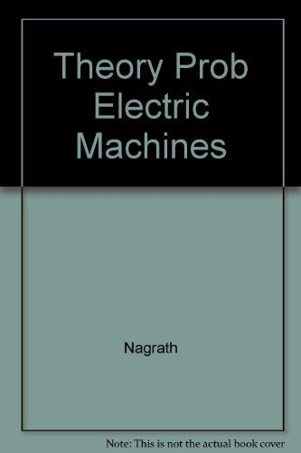 9780071202565: Theory Prob Electric Machines