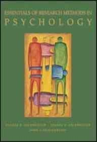 9780071202619: Essentials of Research Methods in Psychology