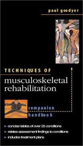 9780071202701: Techniques in Musculoskeletal Rehabilitation: Companion Handbook
