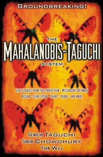 9780071202824: Mahalanobis-Taguchi System - Ise