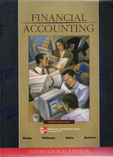 9780071203050: Financial Accounting International Edition