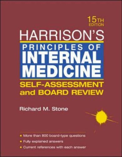 9780071203593: Harrison's Principles of Internal Medicine: Self-assessment and Board Review (McGraw-Hill International Editions Series)