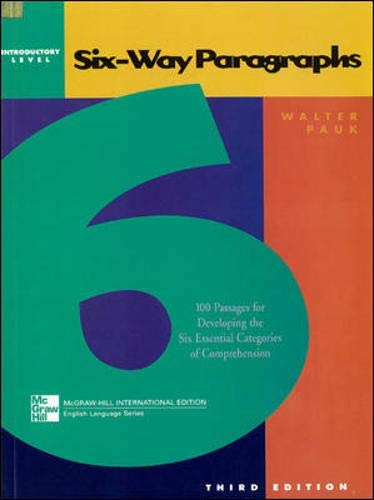 9780071203715: SIX-WAY PARAGRAPHS ADVANCED BEGINNING (Jamestown Education Six-way Paragraphs)