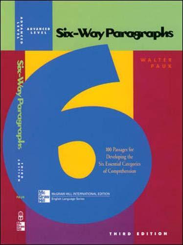 9780071203739: Six-way Paragraphs Advanced (Jamestown Education Six-way Paragraphs)