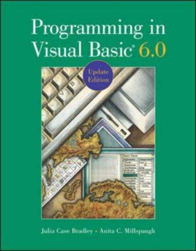 9780071204811: Programming in Visual Basic 6.0