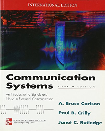 9780071210287: Communication Systems