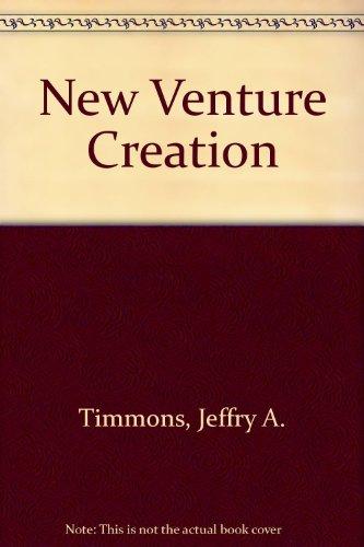 9780071210546: New Venture Creation