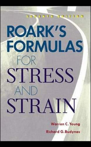 9780071210591: Roark's Formulas for Stress and Strain