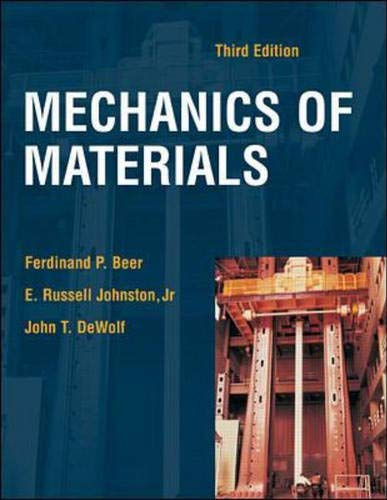 Mechanics of Materials: Beer, F.P. et