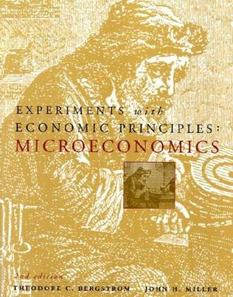 9780071212076: Experiments with Economic Principles: Microeconomics