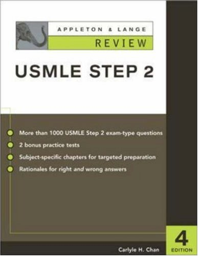 9780071212090: Appleton & Lange's Review for the USMLE: Step 2 (Appleton & Lange Review)