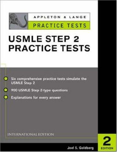 9780071212151: Appleton & Lange's Practice Tests for the USMLE: Step 2