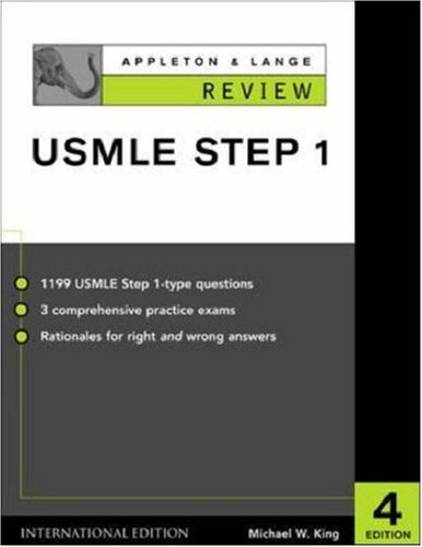 9780071212168: Appleton & Lange's Review for the USMLE: Step 1 (Lange Physiology Series)