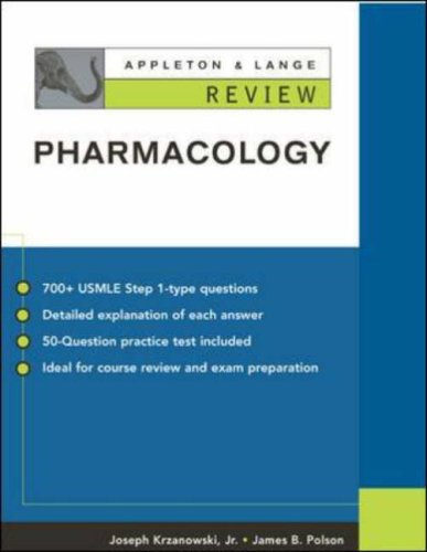9780071212182: Appleton and Lange Review Pharmacology (Appleton & Lange's Quick Review)