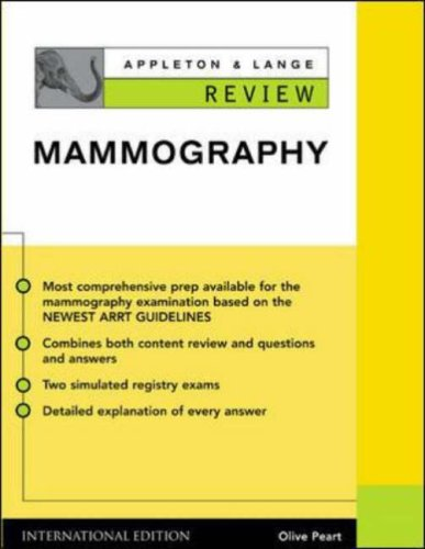 9780071212199: Appleton & Lange's Review of Mammography