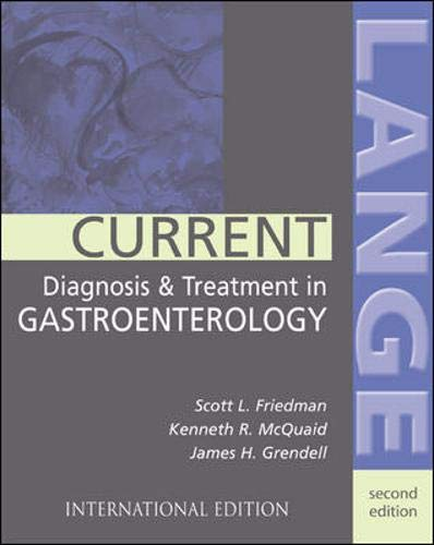 9780071212281: Current Diagnosis and Treatment in Gastroenterology (Lange Medical Books)