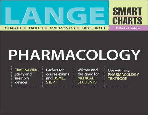 9780071212465: Lange Smart Charts Pharmacology (Lange Smart Charts)
