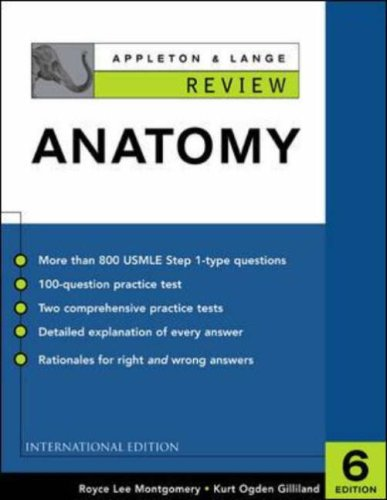 9780071212489: Appleton and Lange Review of Anatomy (Appleton & Lange Review)