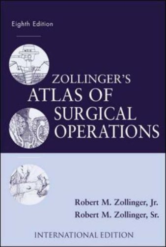 9780071212502: Zollinger's Atlas of Surgical Operations ( 8th Edition )