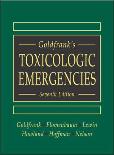 9780071212588: Goldfrank's Toxicologic Emergencies