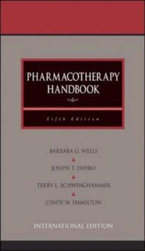 9780071212663: Pharmacotherapy Handbook