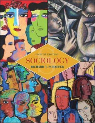 Sociology (9780071212908) by Schaefer, Richard; Lamm, Robert P.