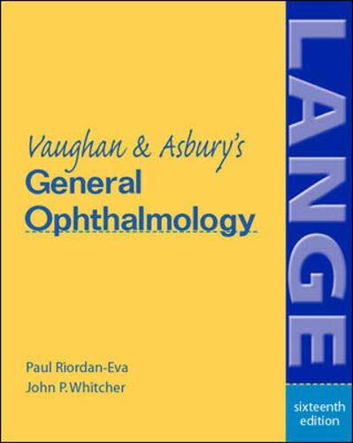 9780071213042: Vaughan & Asbury's General Ophthalmology