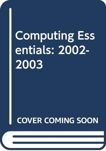 9780071213134: Computing Essentials: 2002-2003