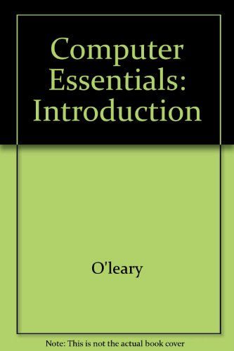 9780071213141: Computer Essentials: Introduction