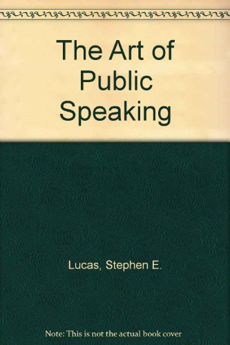 9780071213189: The Art of Public Speaking