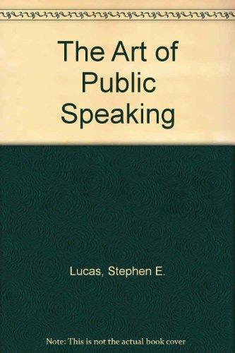 9780071213189: The Art of Public Speaking