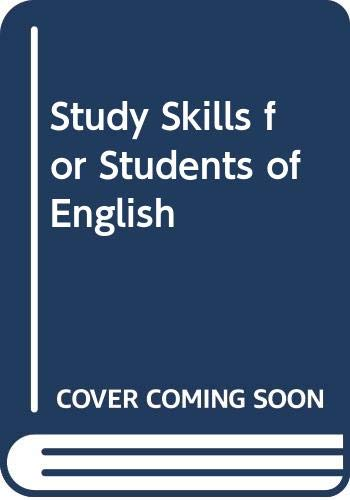 9780071213714: Study Skills for Students of English