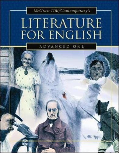 9780071213974: LITERATURE FOR ENGLISH, ADVANCED ONE STUDENT TEXT: Advanced One