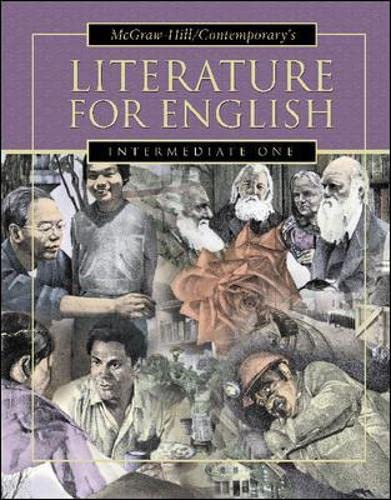 9780071214018: Literature for English, Intermediate One Student Text: Intermediate One