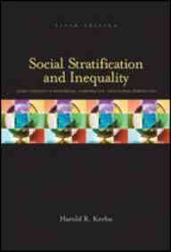 9780071214032: Social Stratification and Inequality