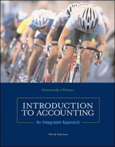 9780071214247: Introduction to Accounting: An Integrated Approach