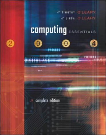 9780071214445: Computing Essentials: 2003-2004 (O'Leary Series)