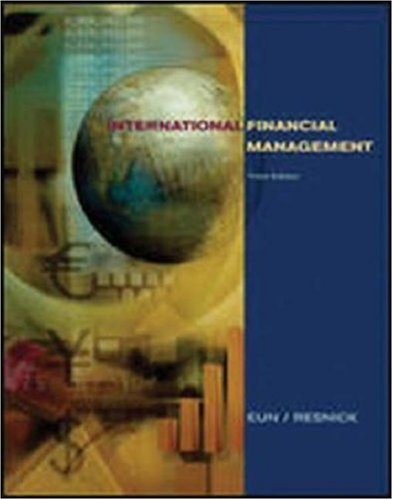9780071214568: International Financial Management (The McGraw-Hill/Irwin Series in Finance, Insurance, and Real Estate)