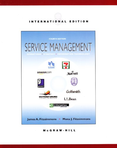 9780071214575: Service Management: Operations, Strategy, and Information Technology
