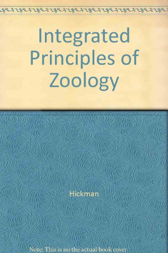 9780071214704: Integrated Principles of Zoology