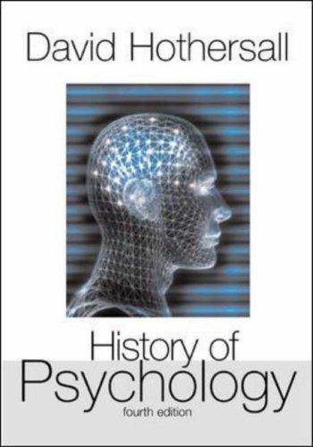 9780071214742: History of Psychology