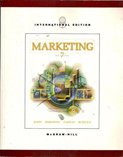 9780071214780: Marketing: The Core, International Edition