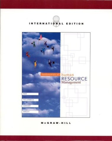 9780071214940: Fundamentals of Human Resource Management