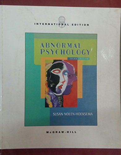 9780071214957: Abnormal Psychology